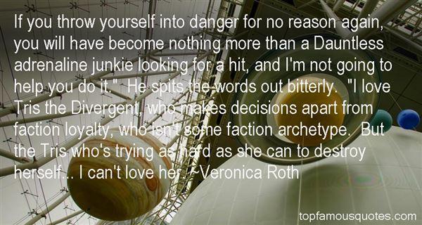Quotes About Tris Divergent