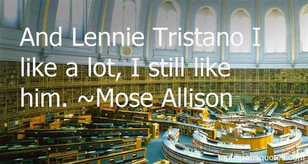 Quotes About Tristano