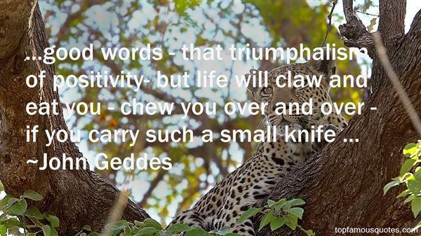 Quotes About Triumphalism