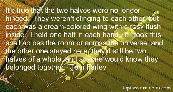 Quotes About Two Halves