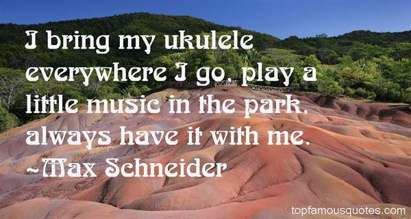 Quotes About Ukulele