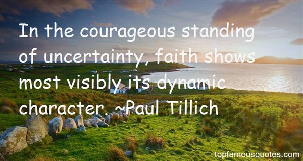 Quotes About Uncertainty
