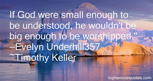 Quotes About Underhill