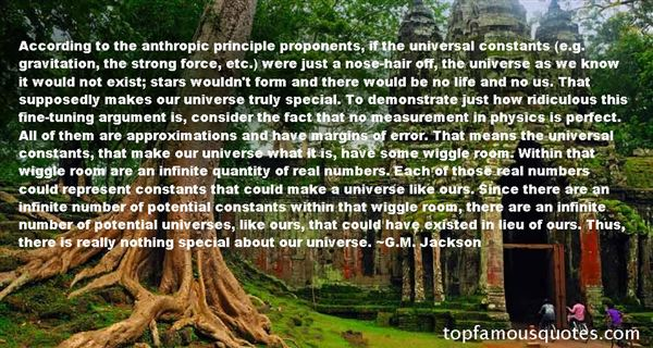 Quotes About Universal Gravitation