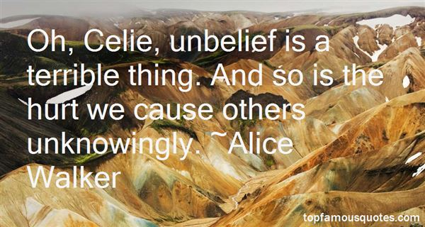 Quotes About Unknowingly