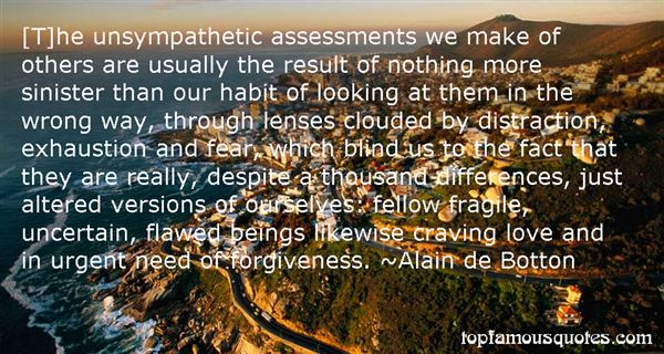 Quotes About Unsympathetic