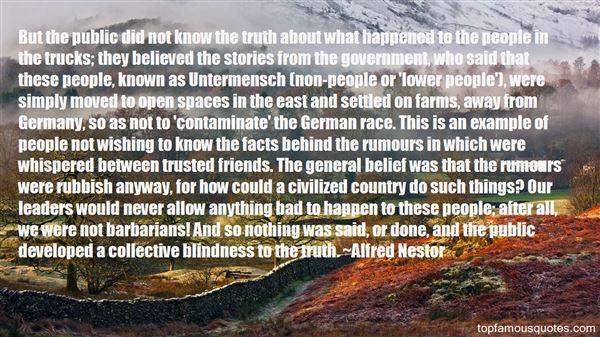 Quotes About Untermensch