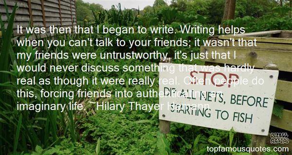 Quotes About Untrustworthy Friends