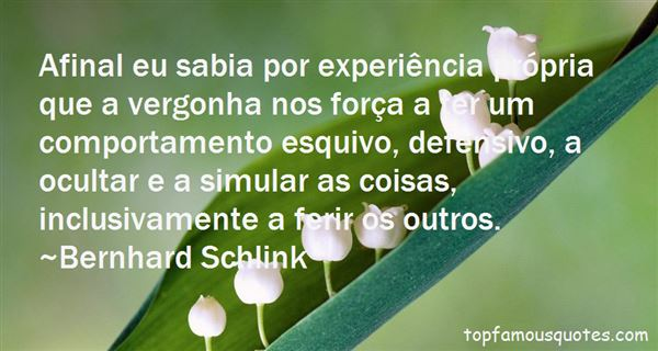 Quotes About Vergonha
