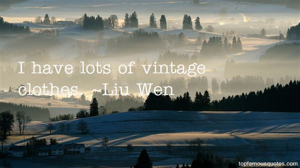 Quotes About Vintage Clothes