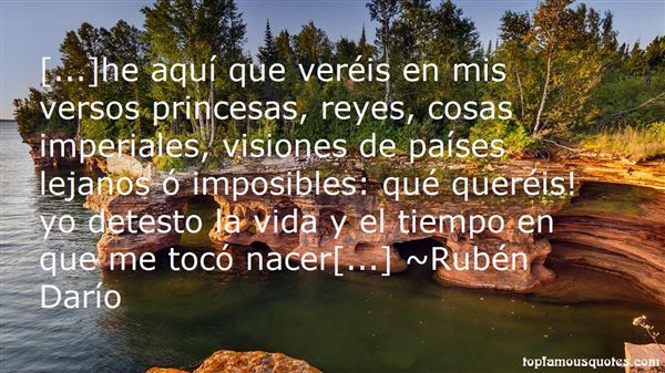 Quotes About Visiones