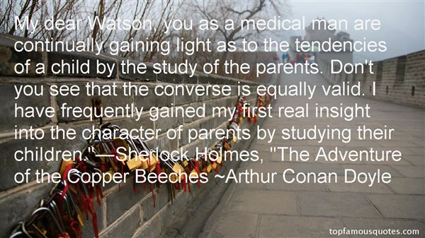 Quotes About Watson Holmes