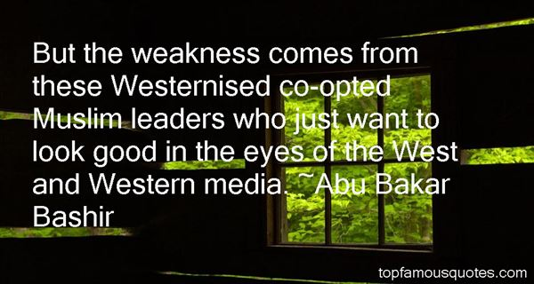 Quotes About Weak Leaders
