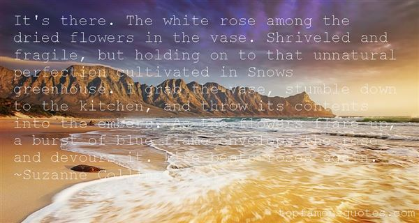 Quotes About White Roses