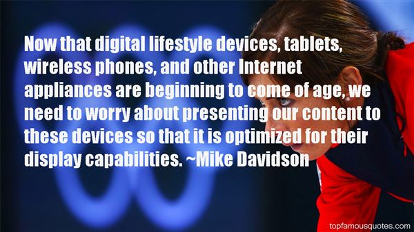Quotes About Wireless Internet