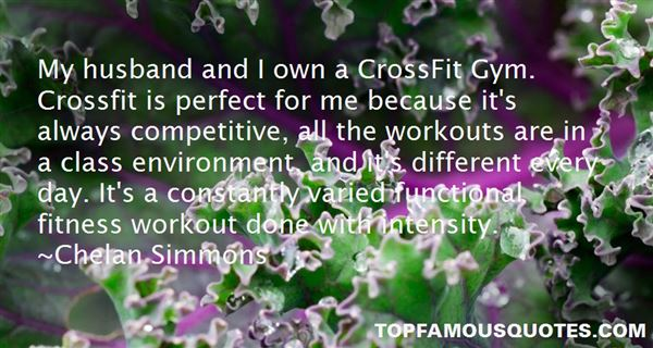 Quotes About Workout Intensity