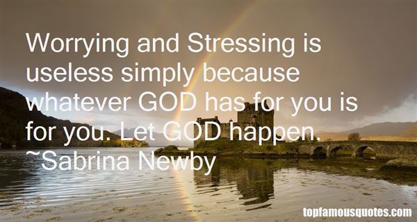 Quotes About Worry And God