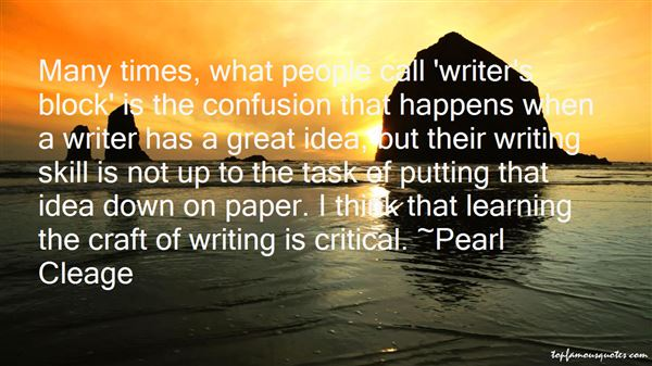 Quotes About Writing Skill