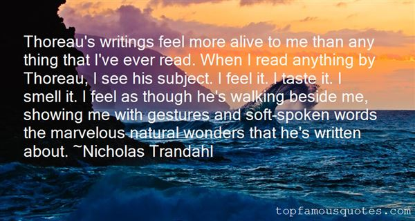 Quotes About Writing Thoreau