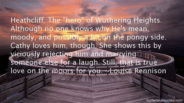 Quotes About Wuthering Heights Moors