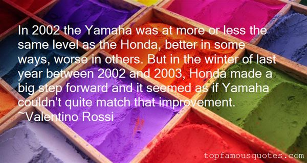 Quotes About Yamaha