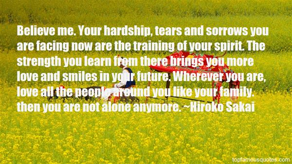 Quotes About You Are Not Alone