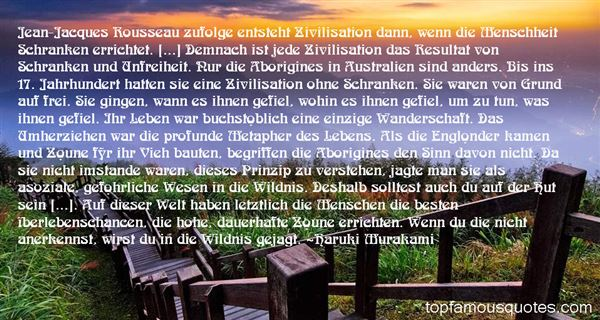 Quotes About Zivilisation