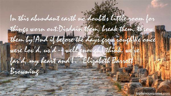 Quotes About Abundant