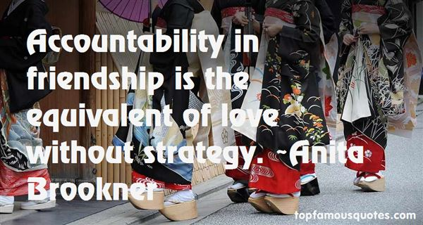 Quotes About Accountability In Friendship