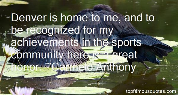 Quotes About Achievements In Sports
