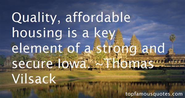 Affordable Housing Quotes Best 8 Famous Quotes About