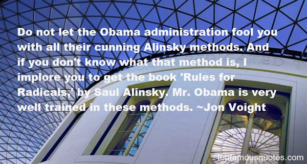 Quotes About Alinsky