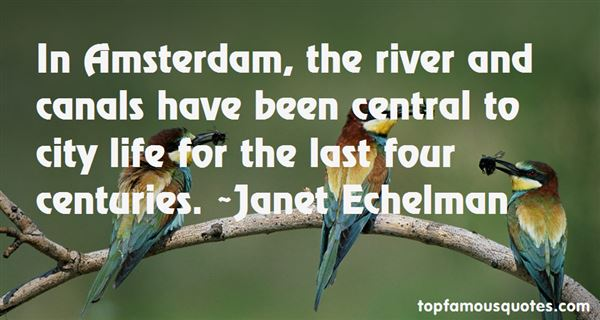 Quotes About Amsterdam Canals