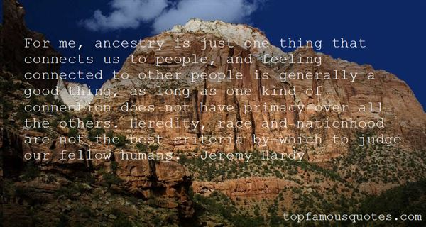 Quotes About Ancestry