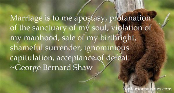Quotes About Apostasy