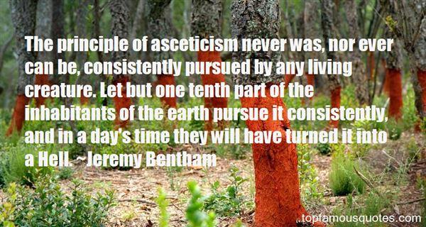 Quotes About Asceticism