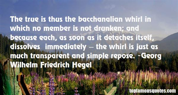 Quotes About Bacchanalia