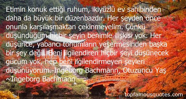 Quotes About Bachmann