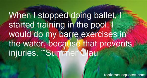 Quotes About Ballet Barre