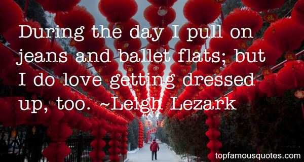 Quotes About Ballet Flats