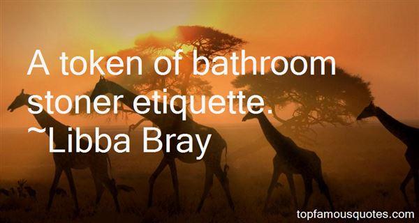 Quotes About Bathroom Etiquette