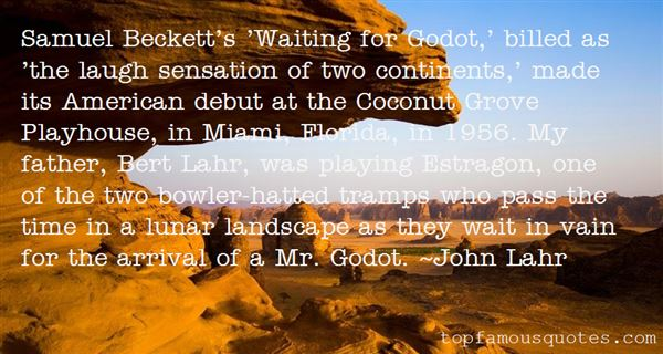 Quotes About Beckett Waiting For Godot