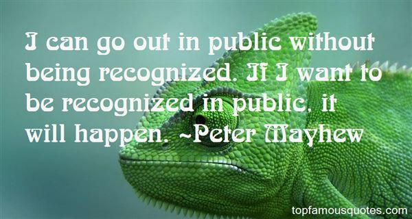 Quotes About Being Recognized