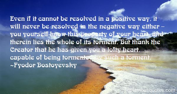 Quotes About Being Tormented