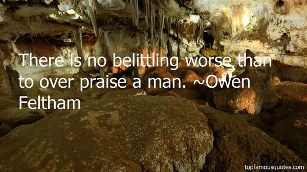 Quotes About Belittling