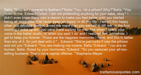 Quotes About Bella And Edward