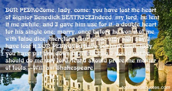 Quotes About Benedick And Beatrice