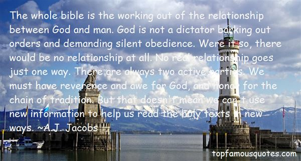 Quotes About Bible Obedience