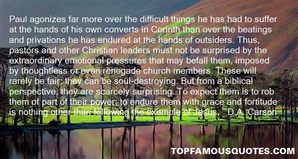 Quotes About Biblical Fortitude