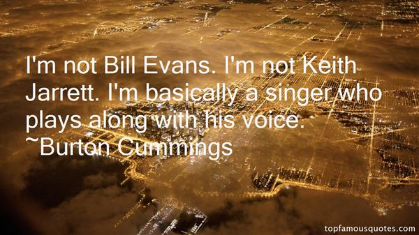 Quotes About Bill Evans